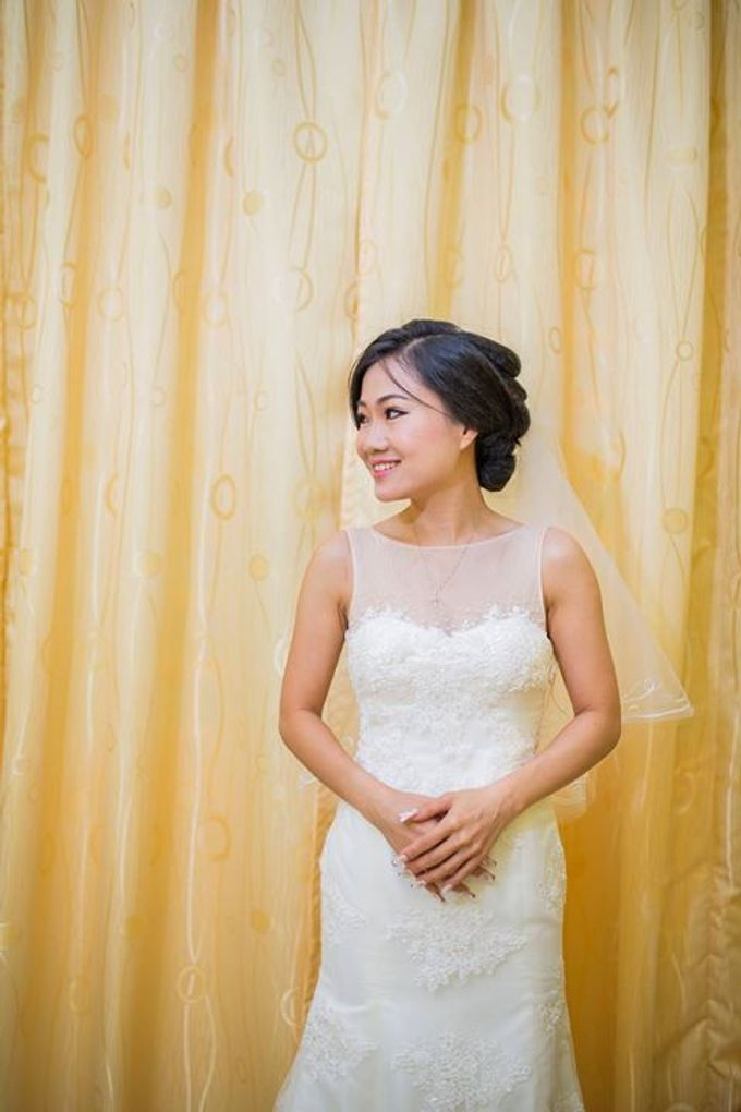 Real Brides And Weddings In Bespoke Emcee Couture by Emcee Couture - 018