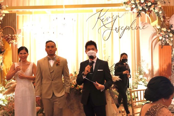 MC Wedding Intimate at Jade Room Fairmont Hotel Jakarta by Anthony Stevven by Anthony Stevven - 016