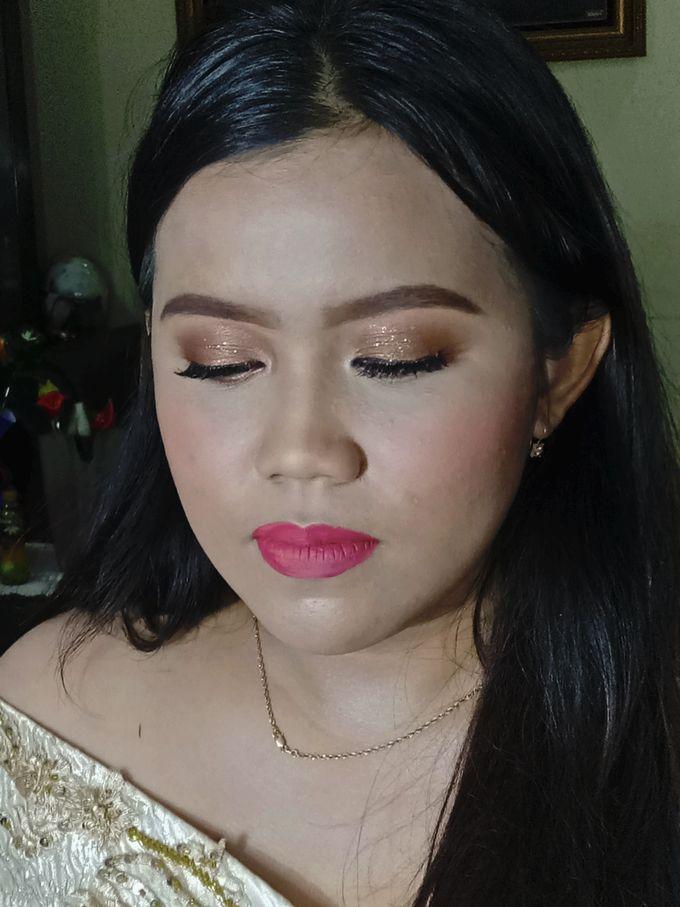 """The Bridesmaid Of 300121"" is Ms. Desyita by Hana Gloria MUA - 003"