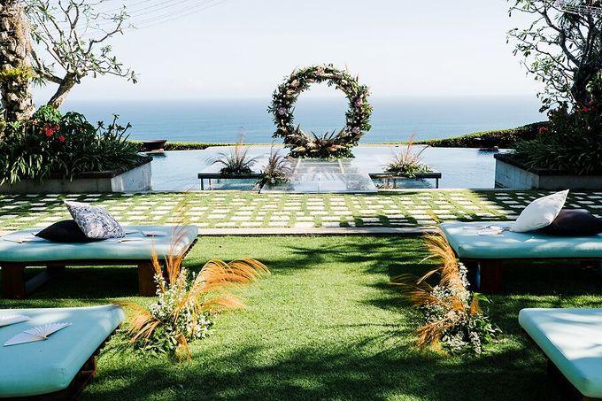 Whimsical Tropical Wedding at Stone House by Tirtha by Tirtha Bali - 009