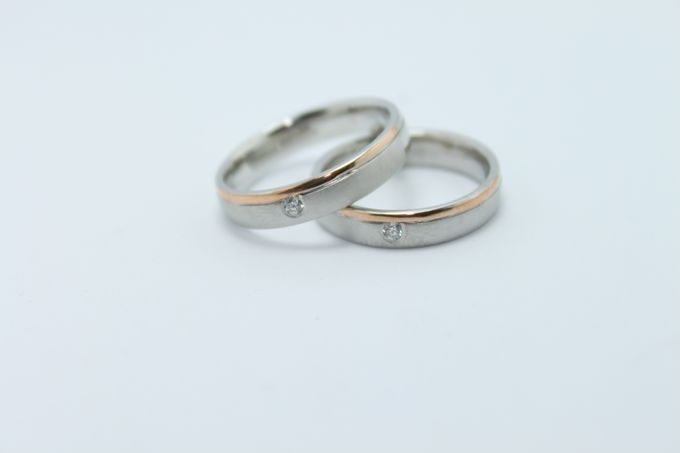 wedding ring simple Design by V&Co Jewellery - 016