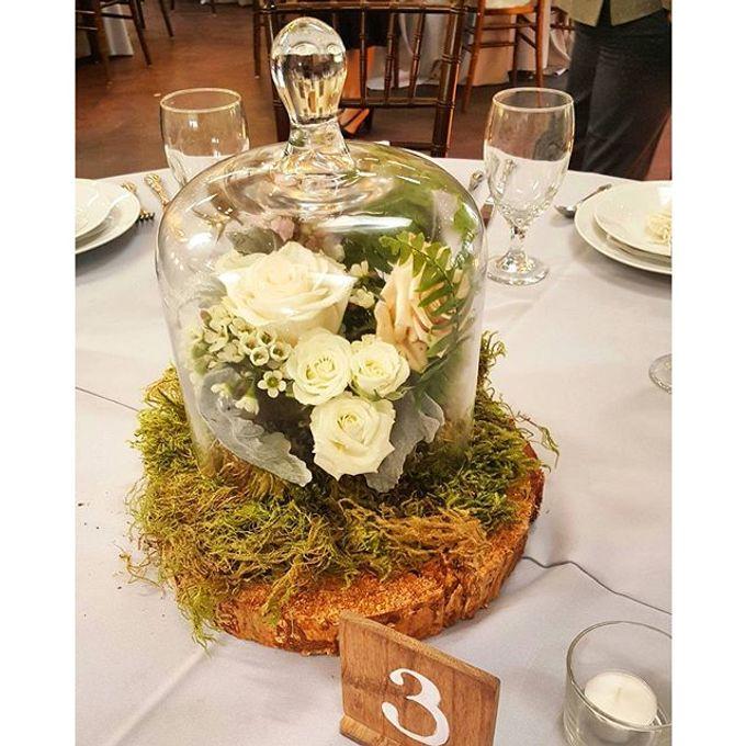 Rustic Wedding by Esmae Event Floral Design - 006