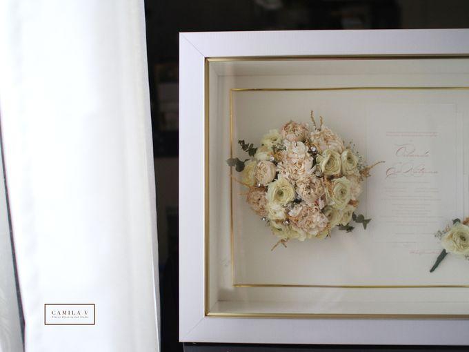 Classy and Elegant Blush Bouquet by Camila V Flower Preservation Studio - 005