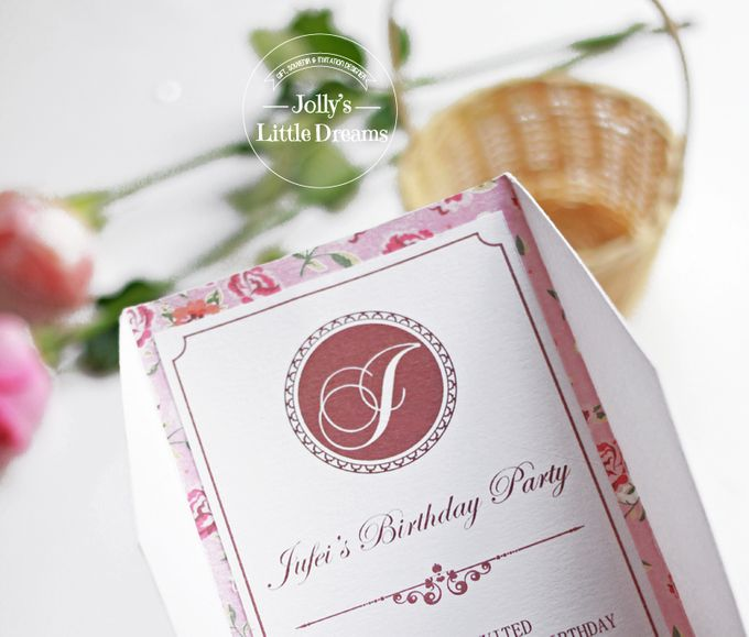 SWEET & SIMPLE FLORAL BIRTHDAY by Jolly's Little Dreams - 002
