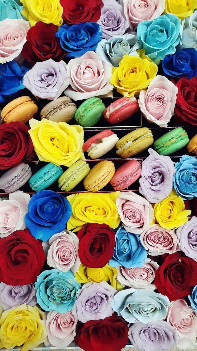 Flower in a Box Arrangement by Roseveelt Florist - 003