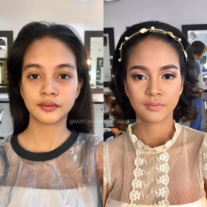 BEFORE & AFTER by May Dalumpines Makeup - 003