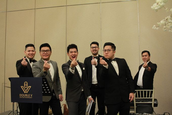 Mc Entertainment Wedding Sheraton Gandaria - Anthony Stevven  with Double V Entertainment Jakarta by Anthony Stevven - 009