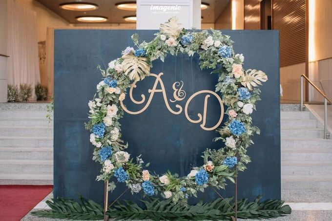 Decoration from Avi & Dhika Wedding by IKK Wedding Planner - 008