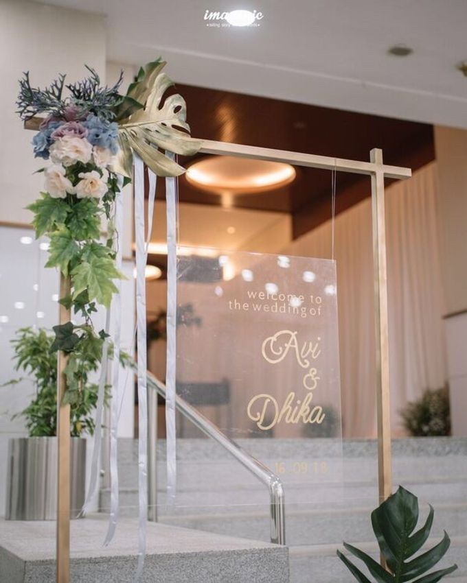Decoration from Avi & Dhika Wedding by IKK Wedding Planner - 009