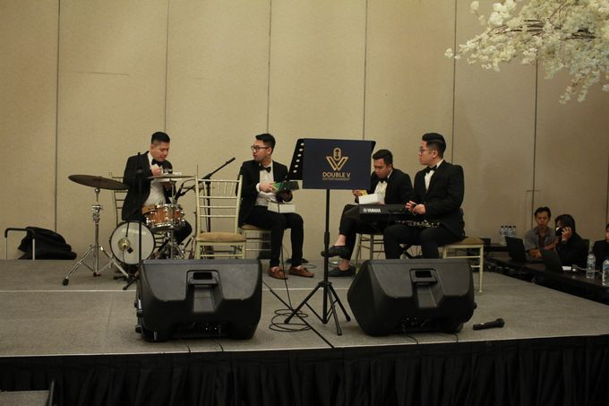 Mc Entertainment Wedding Sheraton Gandaria - Anthony Stevven  with Double V Entertainment Jakarta by Anthony Stevven - 003