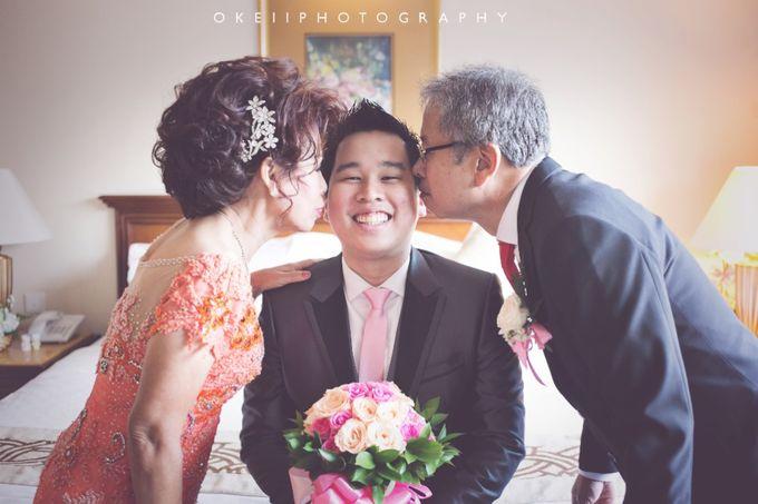 Alvin & Novi Wedding Day by Okeii Photography - 007