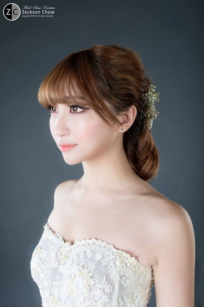 Natural Korean Bridal Look by Beautistylebykoreen - 003