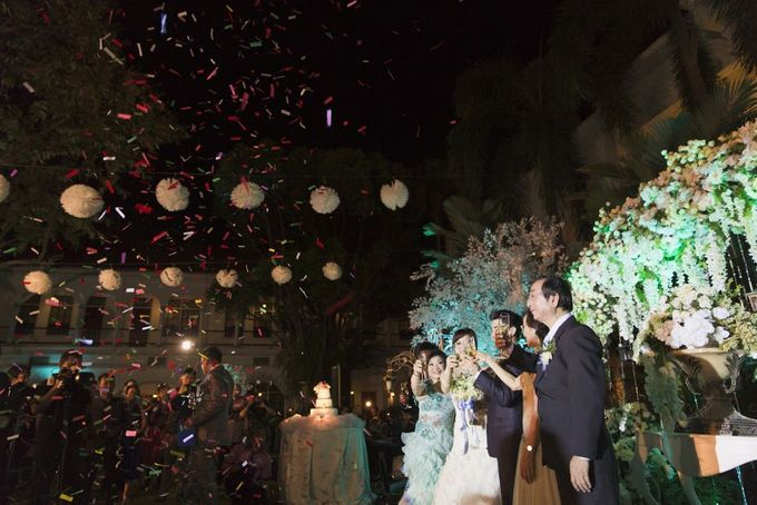 Garden Wedding of Ricky & Inggrid by All Occasions Wedding Planner - 009