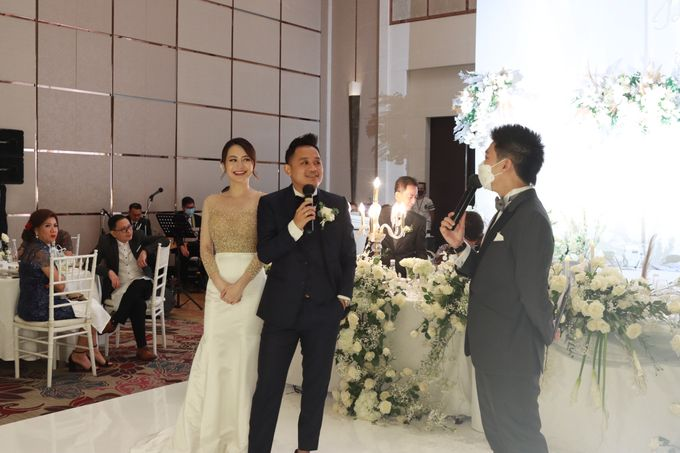 MC Wedding Intimate Fairmont Jakarta - Anthony Stevven by Anthony Stevven - 044