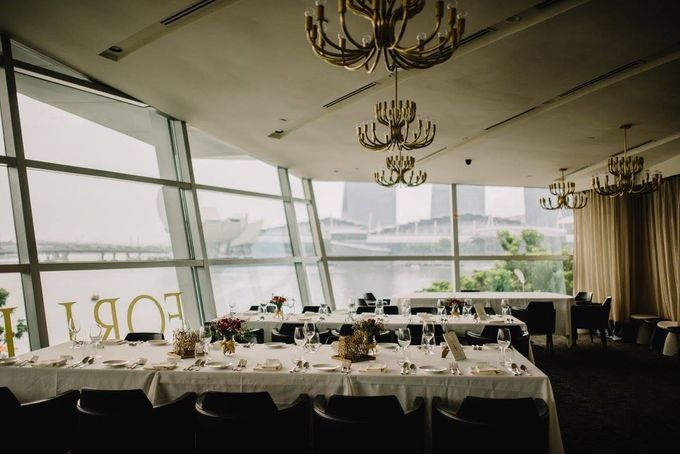Linn & Anthony by Forlino Dining on the Bay - 004