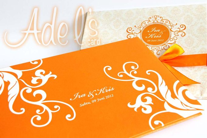 Two Pieces Hard Cover by Adel's House of card - 015