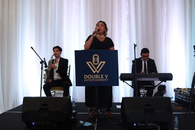 New Normal Wedding Jazz Entertainment at Sheraton Jakarta - Double V entertainment by Double V Entertainment - 015