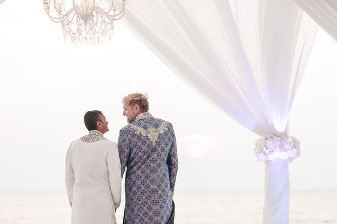 Gorgeous Multicultural Gay Wedding by Luxury Events Phuket - 012