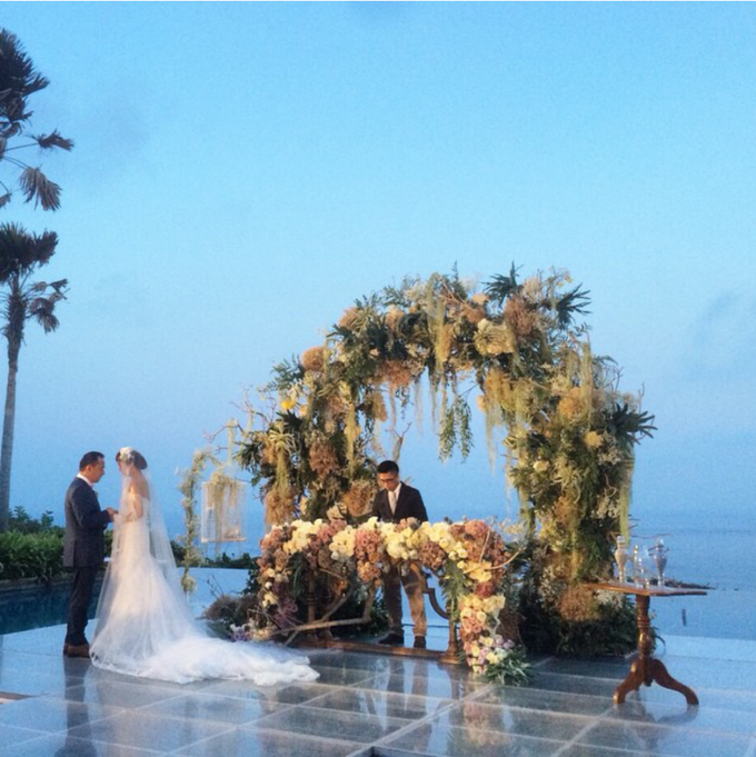 Andree & Priscilla by Elkana Wedding Organizer - 003