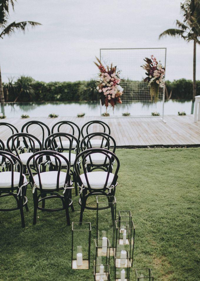 Modern Luxe Buffet Wedding by DIJON BALI CATERING - 002