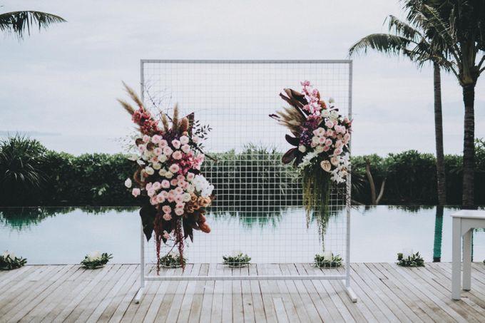 Modern Luxe Buffet Wedding by DIJON BALI CATERING - 003