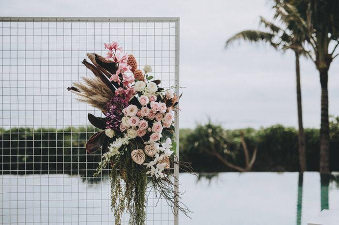Modern Luxe Buffet Wedding by DIJON BALI CATERING - 004