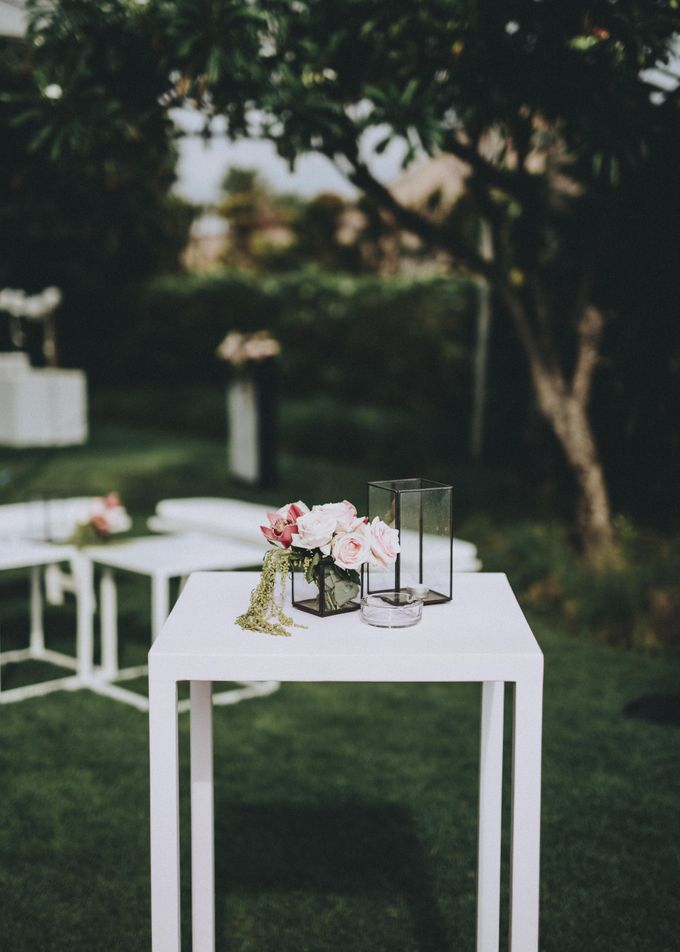 Modern Luxe Buffet Wedding by DIJON BALI CATERING - 006