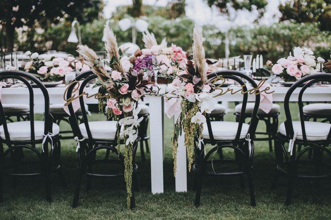 Modern Luxe Buffet Wedding by DIJON BALI CATERING - 007