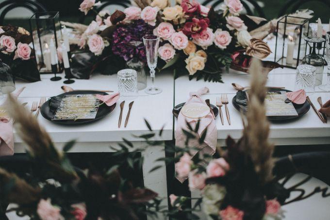 Modern Luxe Buffet Wedding by DIJON BALI CATERING - 008