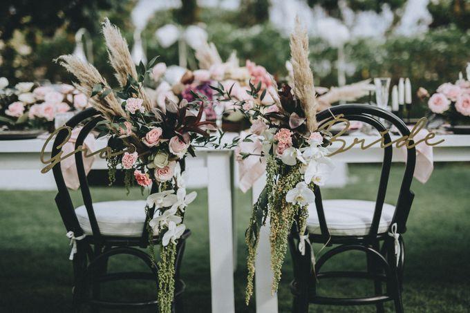 Modern Luxe Buffet Wedding by DIJON BALI CATERING - 009
