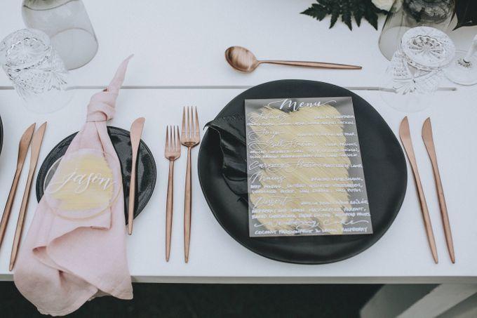 Modern Luxe Buffet Wedding by DIJON BALI CATERING - 010
