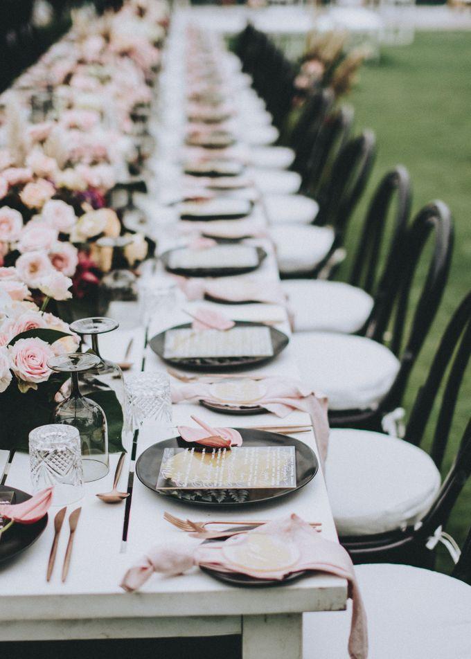 Modern Luxe Buffet Wedding by DIJON BALI CATERING - 012
