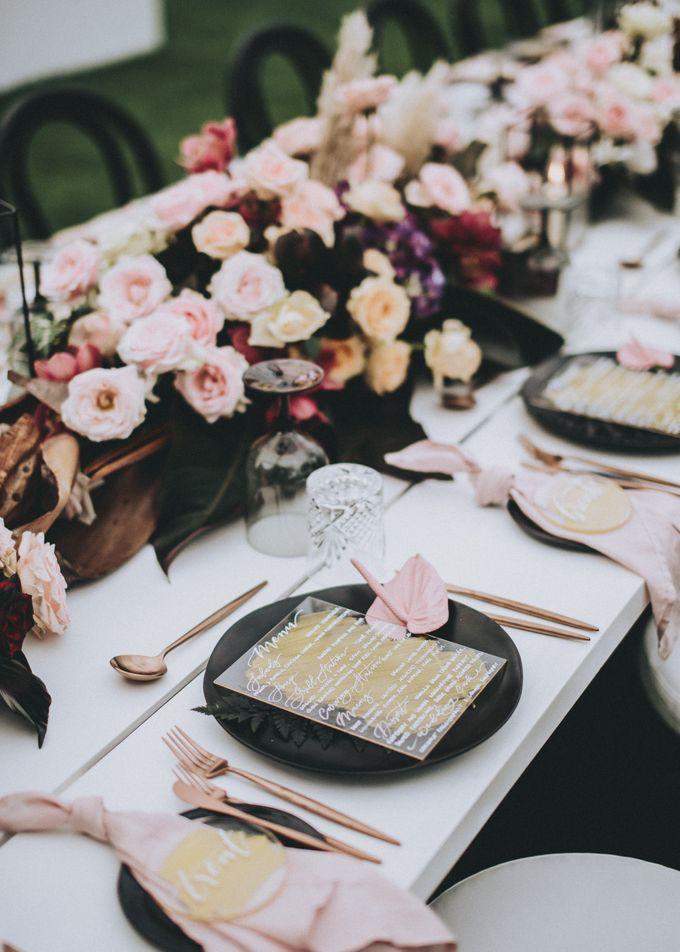 Modern Luxe Buffet Wedding by DIJON BALI CATERING - 014
