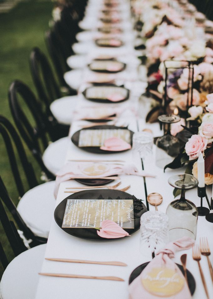 Modern Luxe Buffet Wedding by DIJON BALI CATERING - 015