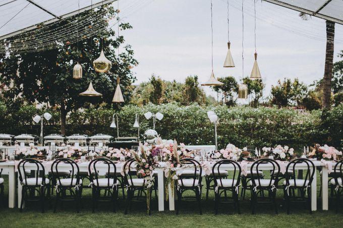 Modern Luxe Buffet Wedding by DIJON BALI CATERING - 016