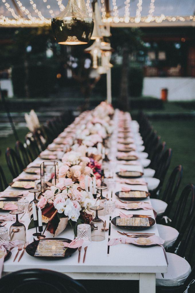 Modern Luxe Buffet Wedding by DIJON BALI CATERING - 020