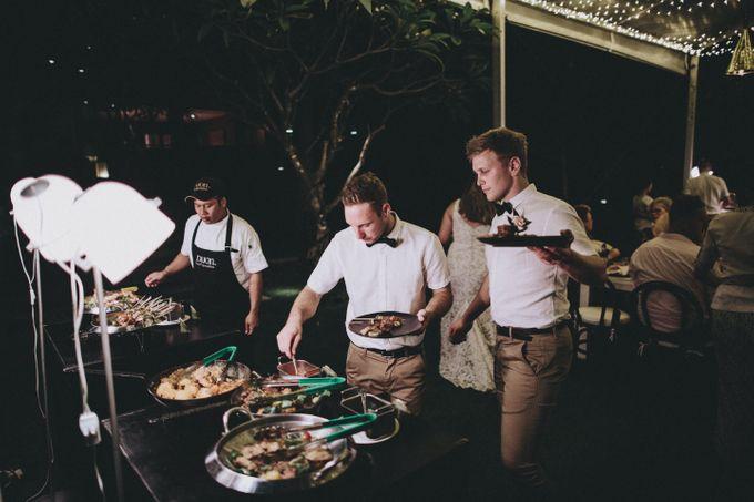 Modern Luxe Buffet Wedding by DIJON BALI CATERING - 023