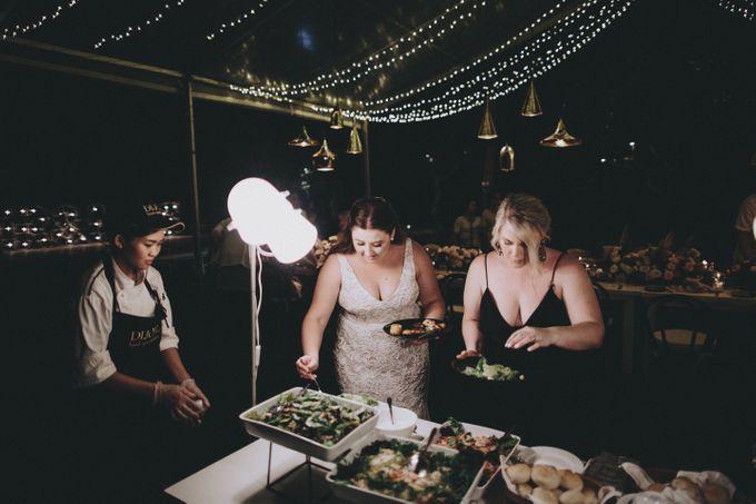Modern Luxe Buffet Wedding by DIJON BALI CATERING - 024