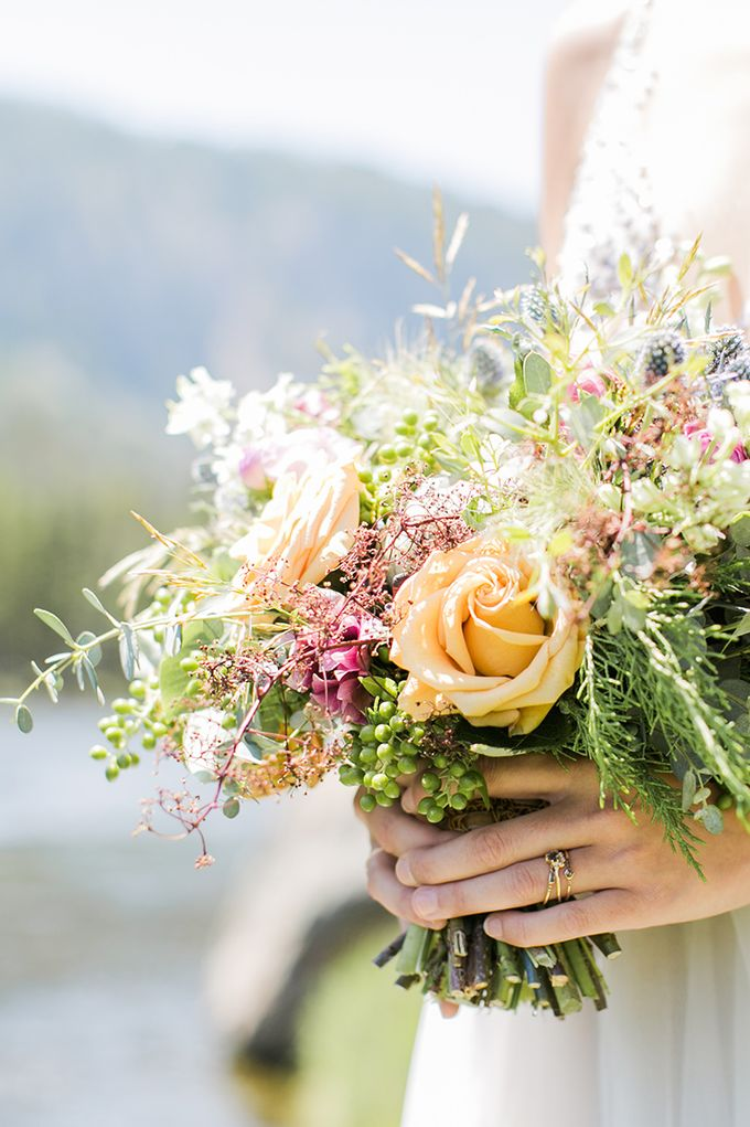 Yellowstone Bridal by Gardens of the Sun - 005