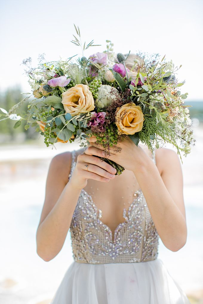 Yellowstone Bridal by Gardens of the Sun - 007