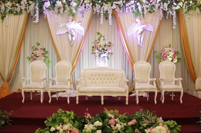 Weddding day of Johnny & Rikha at Angke Restaurant Kelapa Gading by Angke Restaurant & Ballroom Jakarta - 004