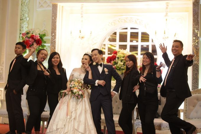 Weddding day of Andre & Febriyola at Angke Restaurant Kelapa Gading by Angke Restaurant & Ballroom Jakarta - 011