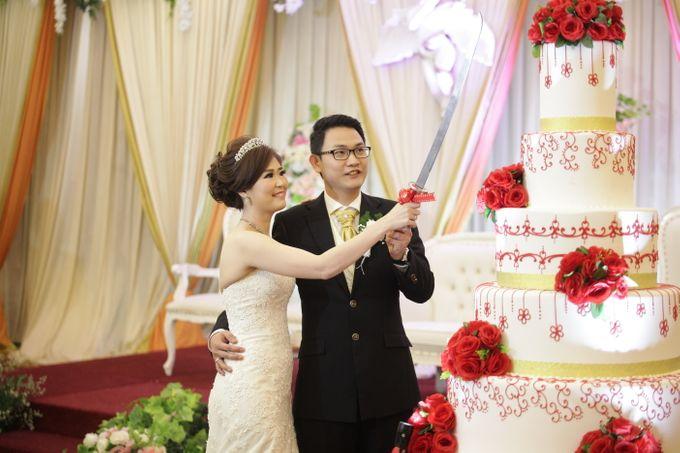 Weddding day of Johnny & Rikha at Angke Restaurant Kelapa Gading by Angke Restaurant & Ballroom Jakarta - 009