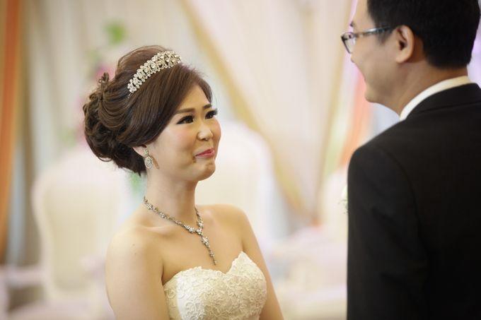 Weddding day of Johnny & Rikha at Angke Restaurant Kelapa Gading by Angke Restaurant & Ballroom Jakarta - 011