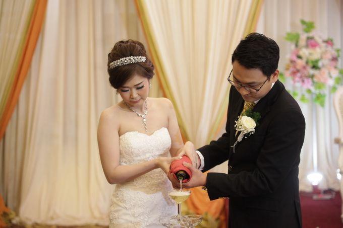 Weddding day of Johnny & Rikha at Angke Restaurant Kelapa Gading by Angke Restaurant & Ballroom Jakarta - 010