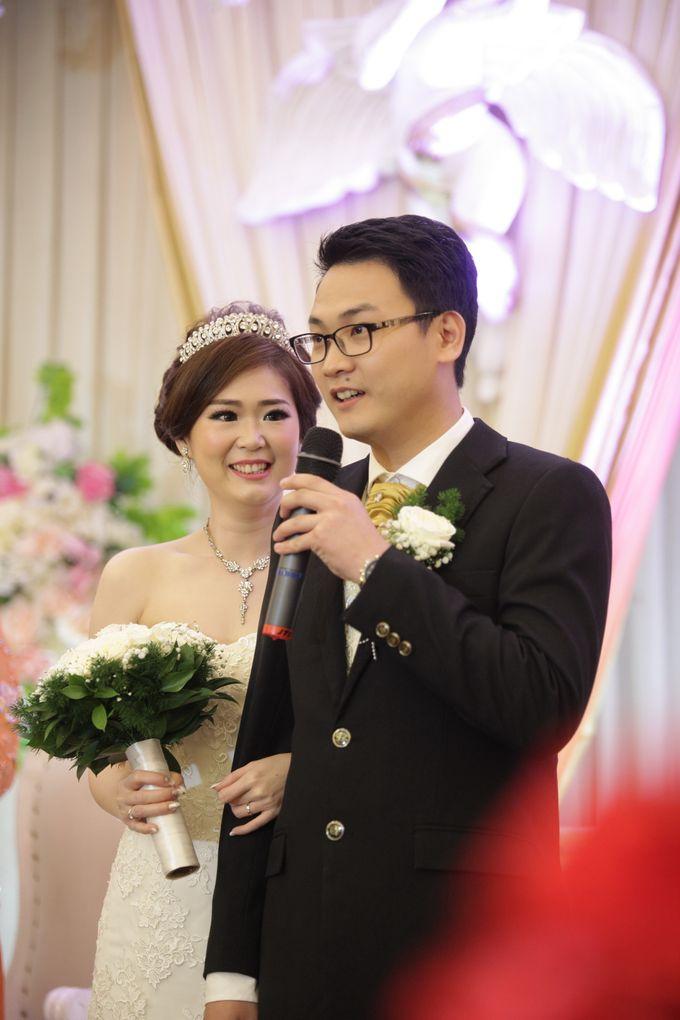 Weddding day of Johnny & Rikha at Angke Restaurant Kelapa Gading by Angke Restaurant & Ballroom Jakarta - 013