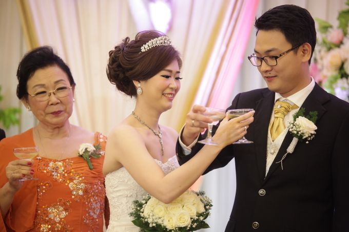 Weddding day of Johnny & Rikha at Angke Restaurant Kelapa Gading by Angke Restaurant & Ballroom Jakarta - 012