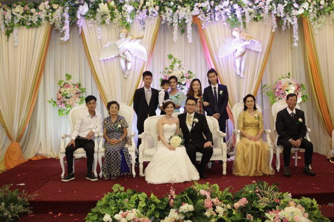 Weddding day of Johnny & Rikha at Angke Restaurant Kelapa Gading by Angke Restaurant & Ballroom Jakarta - 002