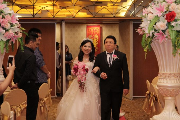 Wedding of Teddy and Margareta by Angke Restaurant & Ballroom Jakarta - 003