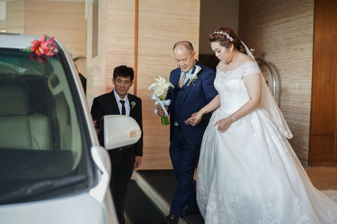 Wedding day of Sui Hoa dan Juhana by Angke Restaurant & Ballroom Jakarta - 003